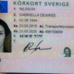 köp svenskt körkort